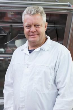 Roy Gustavsen, tuotantopäällikkö